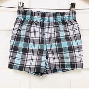 Carter's baby plaid shorts 12m